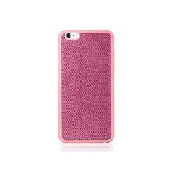 Hoco - Ultra thin series ultra vékony kígyó bőr mintás iPhone 6/6s tok - rózsaszín