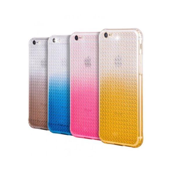 Hoco - Diamond series színátmenetes gyémánt mintás iPhone 6/6s tok - kék