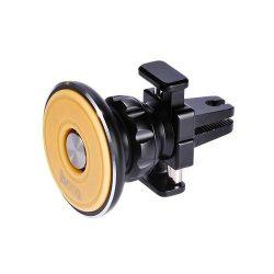 Hoco - CA8 mágneses illatosítós szellőző rácsra csíptethető telefontartó - fekete
