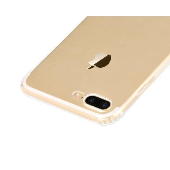 Hoco - Feather series csúszásmentes TPU szilikon iPhone 7/iPhone 8  Plus védőtok - átlátszó