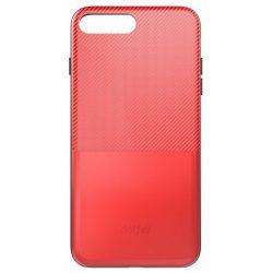 Dotfes - G02 Ultra vékony kártyatartós iPhone 7 / iPhone 8 tok - piros