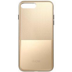 """Dotfes G02 iPhone 6/6S (4,7"""") arany carbon prémium hátlap tok"""