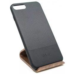 Dotfes G02 iPhone 7/8 Plus fekete carbon tok (beépített fém lappal)