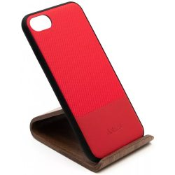 Dotfes G02 iPhone 7/8  piros carbon prémium hátlap tok