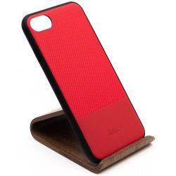 Dotfes G02 iPhone 7/8  piros carbon tok (beépített fém lappal)