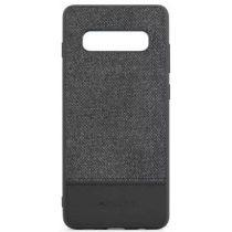 Meleovo - Samsung Galaxy S10 Fabric Series Szövetbevonatos Premium Hátlapi Tok