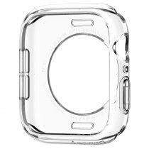 Spigen - Liquid Crystal Apple Watch 4 44mm Szilikon Tok - Átlátszó