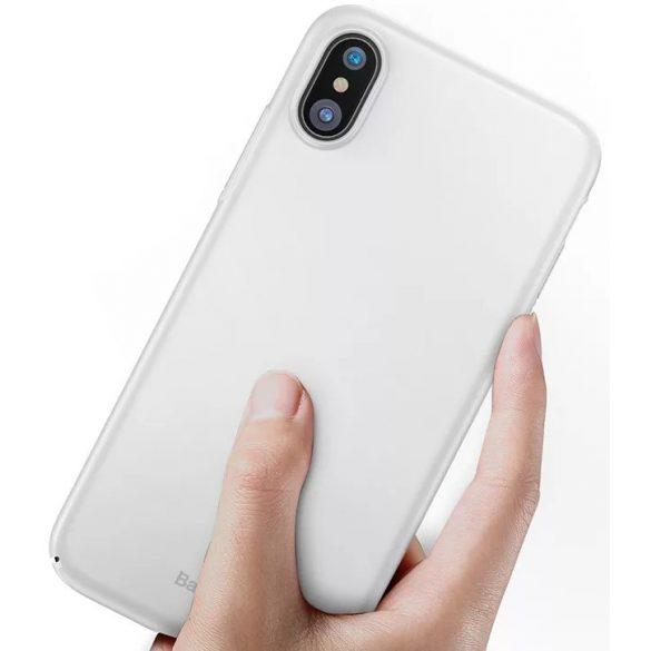 Baseus - iPhone X/Xs Thin Case Ultra Slim PL Tok - fehér