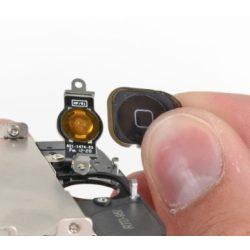 iPhone 5 Home gomb csere ( külső - műanyag)