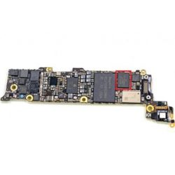 iPhone 5 Audio IC csere