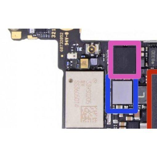 iPhone 5C Touch IC csere (Digitizer-érintőkijelző vezérlő IC)
