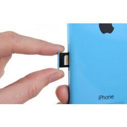 iPhone 5C SIM-tálca pótlása