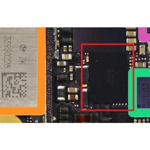 """iPhone 6 Plus Töltésvezérlő IC csere ( DOCK IC(""""U2""""))"""