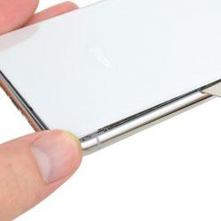 iPhone X hátlapi üveglap csere