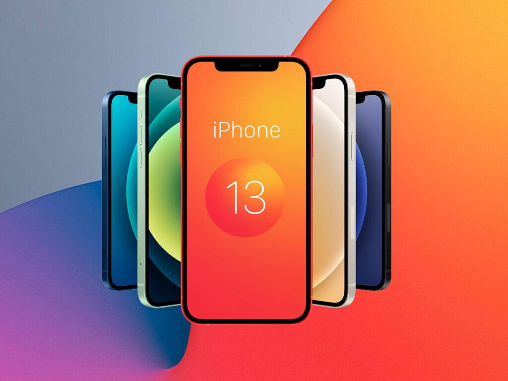 Narancssárga iPhone 13